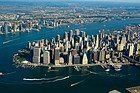 Helicopter tour of New York, views
