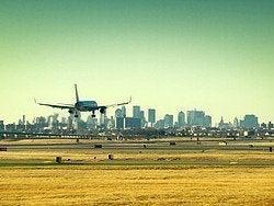 Aeropuerto JFK, aterrizando