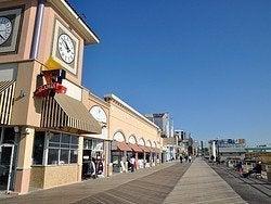 Boardwalk d'Atlantic City