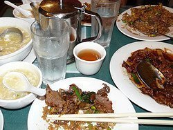 Ristorante a Chinatown, New York