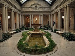 The Frick Collection, patio interior
