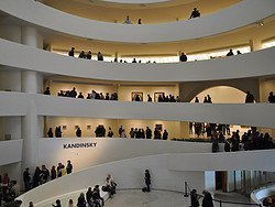Museo Guggenheim, interior