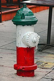 Little Italy, fire hydrant