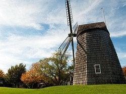 Los Hamptons, molino histórico