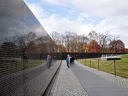 Washington D.C. Vietnam Veterans Memorial