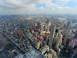 The view from One World Observatory