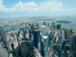 Panoramic view, One World Observatory