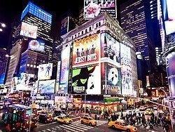 Una noche más en Times Square