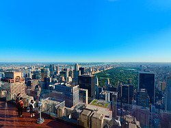 Top of the Rock, vistas de Central Park