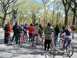 Bicycle tour of Central Park