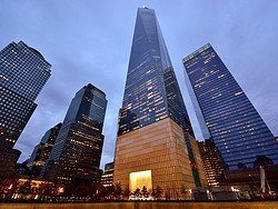 World Trade Center al anochecer