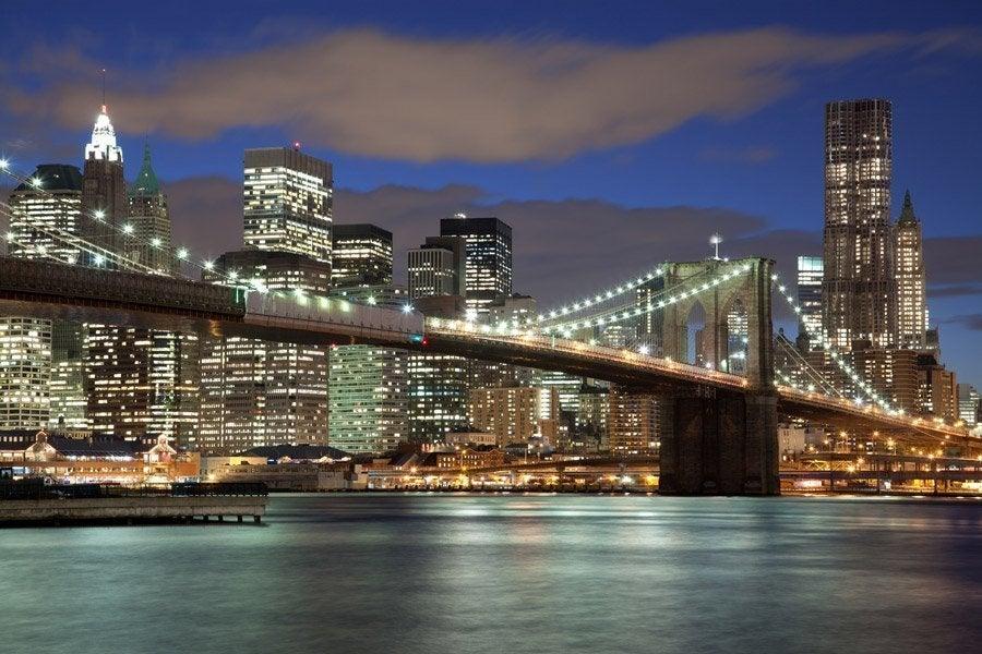 Nueva York iluminado