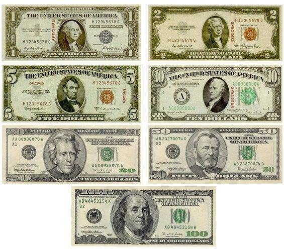 Billetes de Dólar
