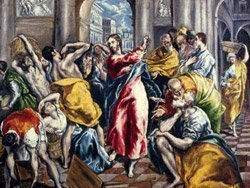 The Purification of the Temple by El Greco