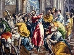 La Purificación del Templo, El Greco