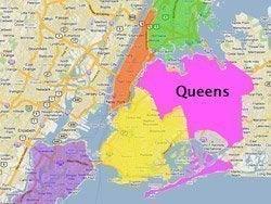 Situación de Queens en Nueva York