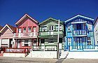 Casas típicas de la Costa Nova
