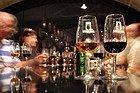 Bodegas de Oporto, catando el vino