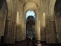 Se de Oporto, inside the Cathedral