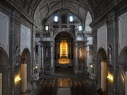 Iglesia Dos Grilos, interior