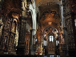 Iglesia de San Francisco, interior