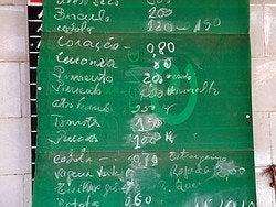 Precios en Oporto