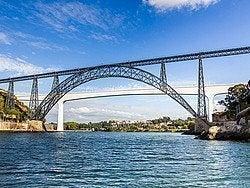 Puentes María Pía y Sao Joao