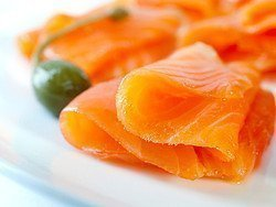 Gastronomía de Noruega, Salmón Ahumado