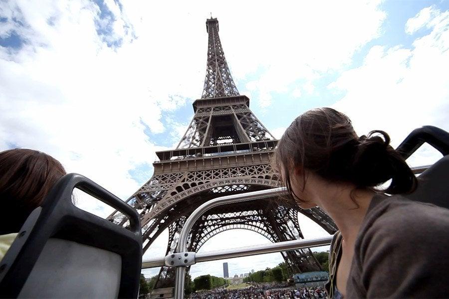 Torre Eiffel desde el OpenTour