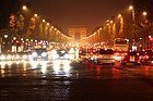 París en coche, atasco
