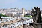 A bored gargoyle in Paris