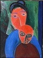 Museo Picasso, Madre e Hijo