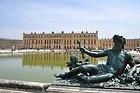 Palacio de Versalles desde los jardines