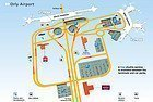 Orly Airport map