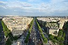 Arc de Triomphe, views
