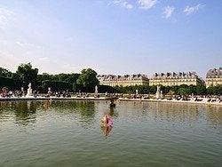 Jardin des Tuileries, fountain