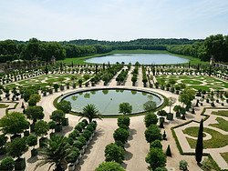 Jardines de Versalles, jardín sur