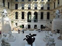 Louvre, interior
