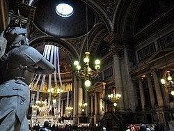 Madeleine Church, inside
