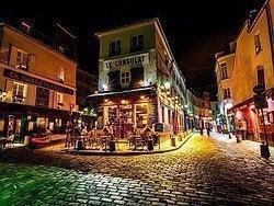 Montmartre al anochecer