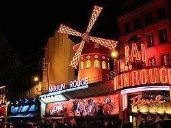 El famosísimo Moulin Rouge
