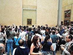 The Louvre, one of the most visited museums in the world