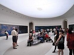 Museo de la Orangerie, Nenúfares de Monet