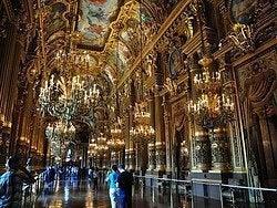 Ópera Garnier, interior