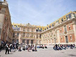 Palace of Versailles, main entrance