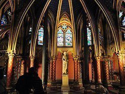 Sainte Chapelle, lower chapel