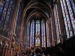 Sainte Chapelle, vidrieras