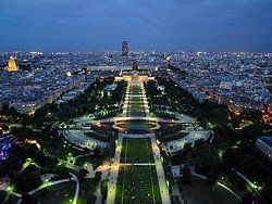 Eiffel Tower, views
