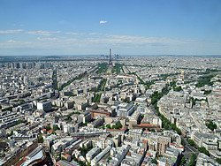 Montparnasse Tower, views