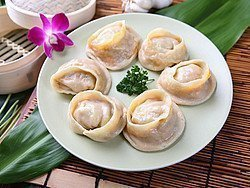 Comer en Pekín, Dim Sum de carney  bambú
